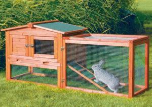 красивая клетка для кроликов