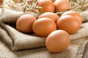 яйца зимой