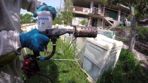 осенняя обработка пчел бисанаром