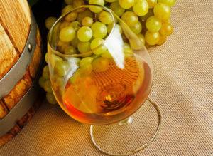коньяк из винограда
