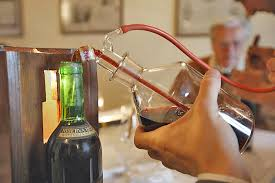 долив вина
