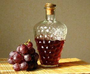 виноградная наливка дома