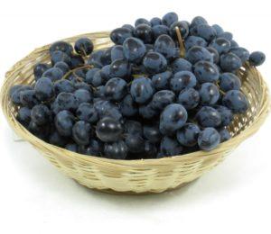 ценные свойства чёрного винограда