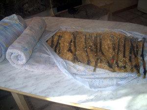 хранение черенков винограда во влажной ткани